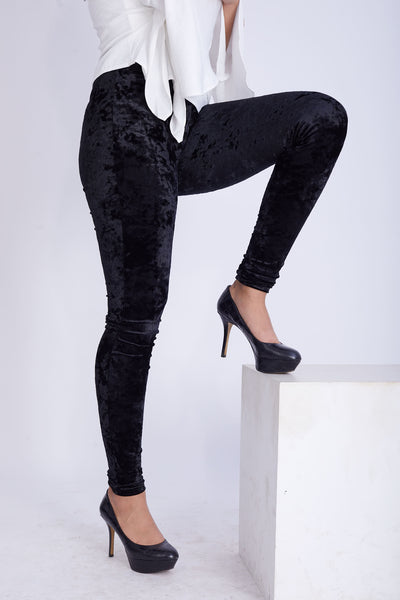 Velvet Stretch Pants -120031