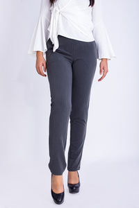 Elastic Straight Pants - 120003