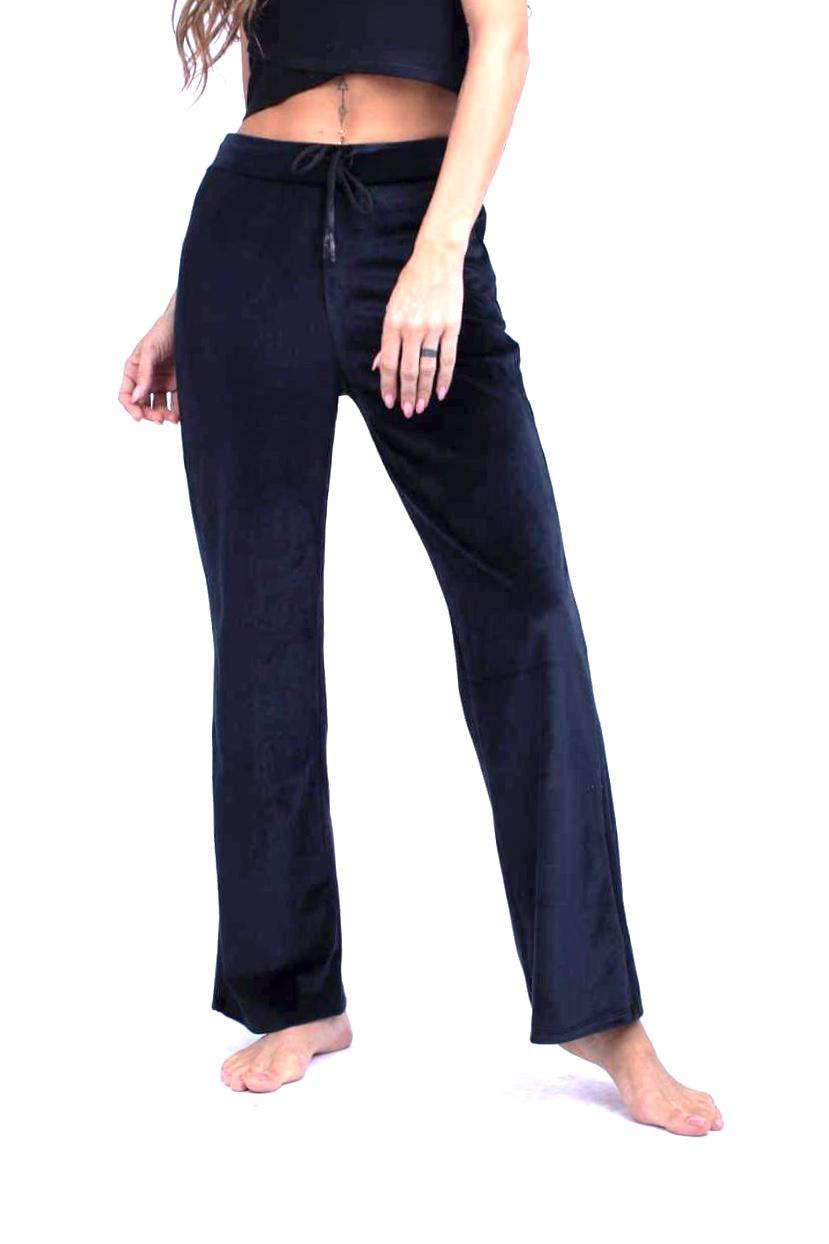 Soft LycraVelvet Straight Pants - W2014