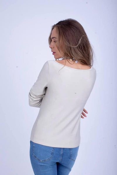 Sabrina Short Brushed Viscose MiltonTop - BTW6