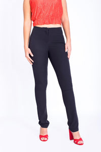 Wide Elastic Pants - 120001