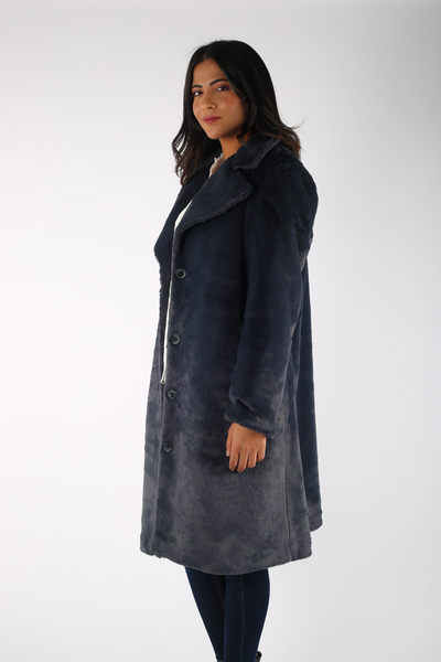 Long Fur Coat - 150005