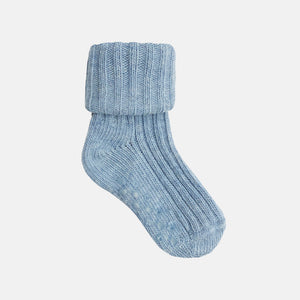 Non-Slip Stay on Cotton Ribbies in Baby Blue