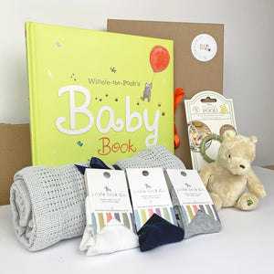 The Ultimate Winnie the Pooh New Baby Gift Hamper