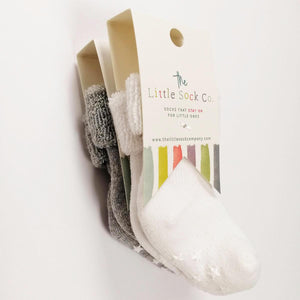 Non- Slip Cosy Toe socks - 3 pack - Outlet