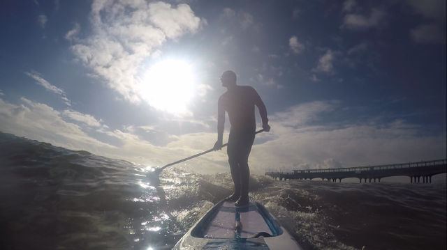 Paddling the Mistral Vortex and Equinox