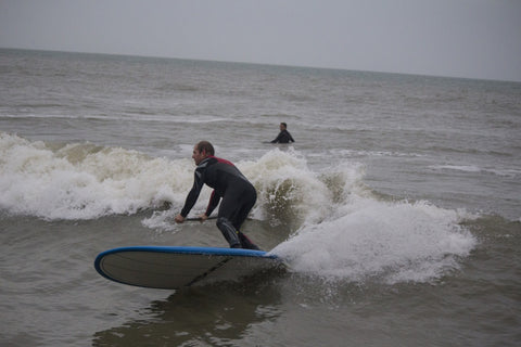 Making the most of a small swell on the Rogue Tesoro
