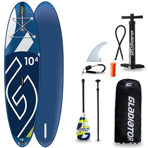 GLADIATOR PRO 10'4 INFLATABLE PADDLEBOARD 2020 - The SUP Store