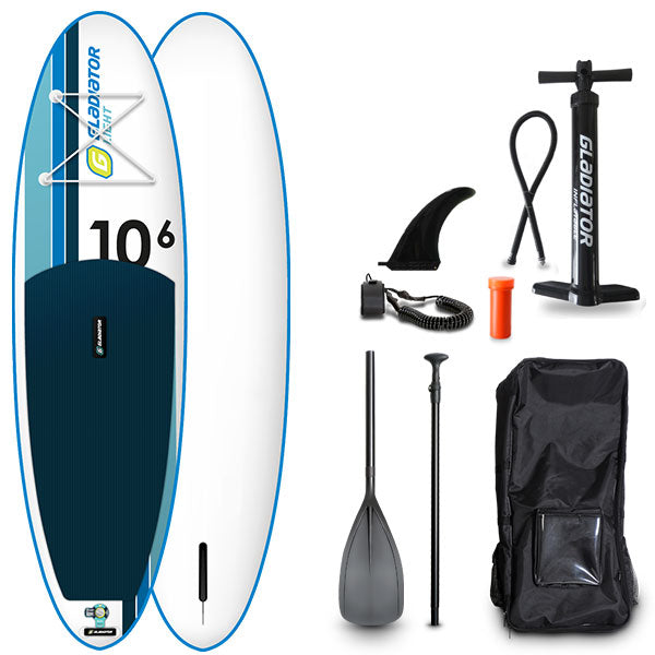 GLADIATOR LIGHT 10'6 INFLATABLE PADDLE BOARD 2020 - The SUP Store