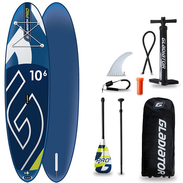 GLADIATOR PRO 10'6 INFLATABLE PADDLEBOARD 2020 - The SUP Store