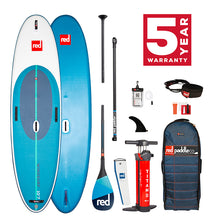 Load image into Gallery viewer, Red Paddle co 2021 - 10'7″ WINDSURF PADDLE BOARD PACKAGE
