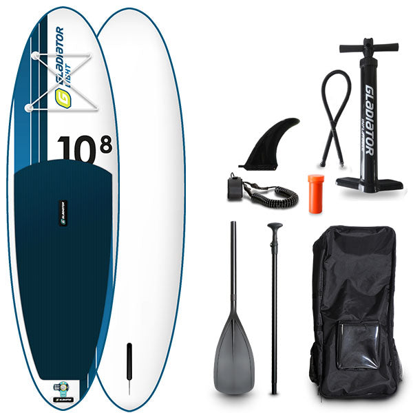 GLADIATOR LIGHT 10'8 INFLATABLE PADDLE BOARD 2020 - The SUP Store
