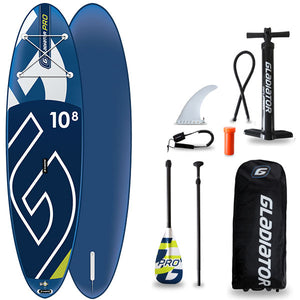 GLADIATOR PRO 10'8 INFLATABLE PADDLEBOARD 2020 - The SUP Store
