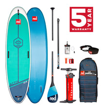 "Load image into Gallery viewer, Red paddle 2021 Ride 10'8"" x 34"" Activ (yoga) - pre order package"