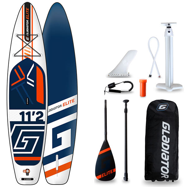 GLADIATOR ELITE 11'2 INFLATABLE PADDLEBOARD 2020 - The SUP Store