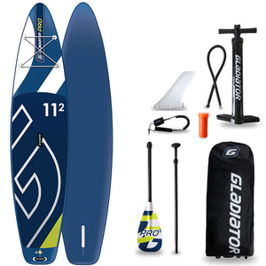 GLADIATOR PRO 11'2 INFLATABLE PADDLEBOARD 2020 - The SUP Store