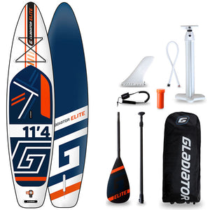 GLADIATOR ELITE 11'4 INFLATABLE PADDLEBOARD 2020 - The SUP Store