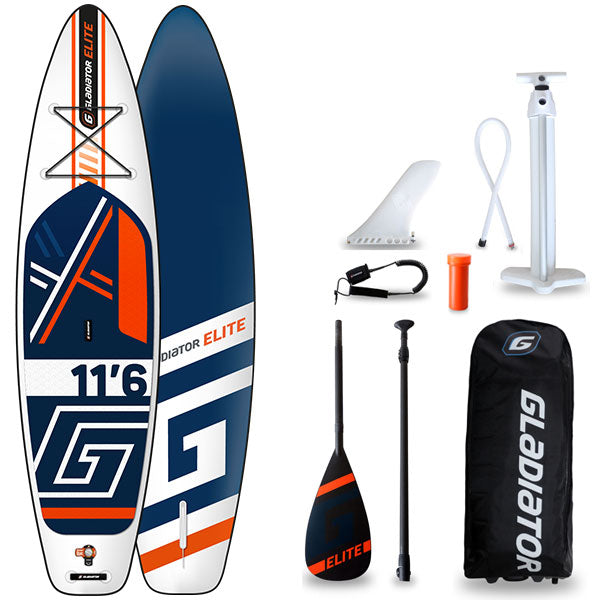 GLADIATOR ELITE 11'6 INFLATABLE PADDLEBOARD 2020 - The SUP Store