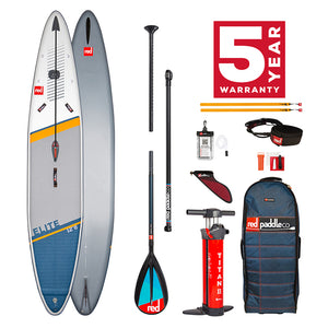 Red Paddle Co 2021 - 12'6″ X 28″ ELITE RACING SUP BOARD PACKAGE