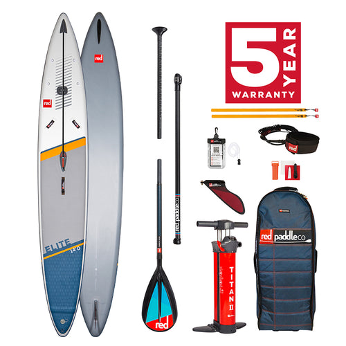 Red Paddle C0 2021 -  14'0″ X 27″ ELITE RACING SUP BOARD PACKAGE