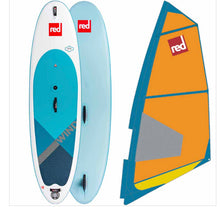 "Load image into Gallery viewer, Red Paddle Ride 2020 - 10'7"" x 33"" Wind SUP Board package - The SUP Store"
