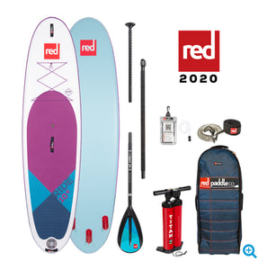 "Red Paddle Co Ride 2020- Purple 10'6 x 32"" MSL - The SUP Store"