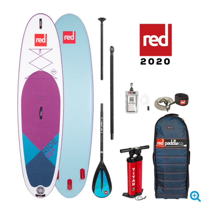 Red Paddle Co Ride 2020- Purple 10'6 x 32
