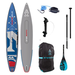 "Starboard 2020 - 14'"" X 30"" TOURING DELUXE Double chamber Infl Package - The SUP Store"