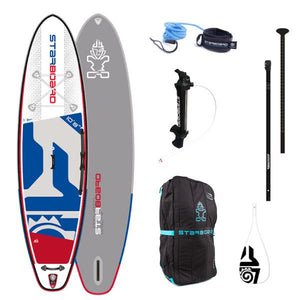 "Starboard 2020 - 10'8"" X 33"" iGO DELUXE Inflatable Package - The SUP Store"