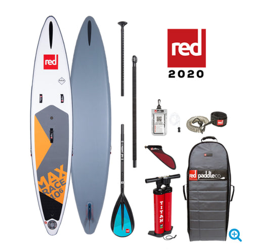 2020 Red Paddle Co 10'6 Max Race Kids Race board