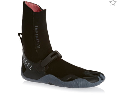 Xcel Infiniti 5mm split toe Wetsuit boots - The SUP Store