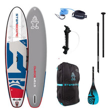 "Load image into Gallery viewer, Starboard 2020 - 11'2"" X 32"" iGO DELUXE Inflatable Package - The SUP Store"