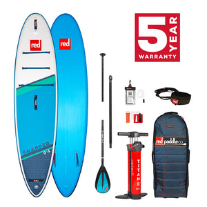 "Red Paddle Co 2021 9'4 x 27"" Snapper kids board package"