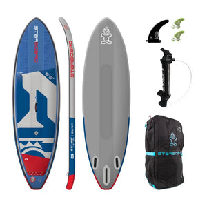 "Starboard 2020  SURF DELUXE inflatable  9'5"" X 32"" X 4.75"" - Available for pre order - The SUP Store"