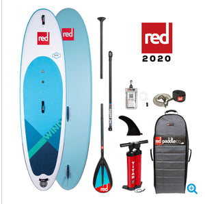 "Red Paddle Ride 2020 - 10'7"" x 33"" Wind SUP Board package - The SUP Store"