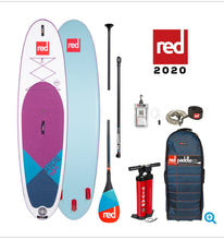 "Load image into Gallery viewer, Red Paddle Co Ride 2020- Purple 10'6 x 32"" MSL - The SUP Store"