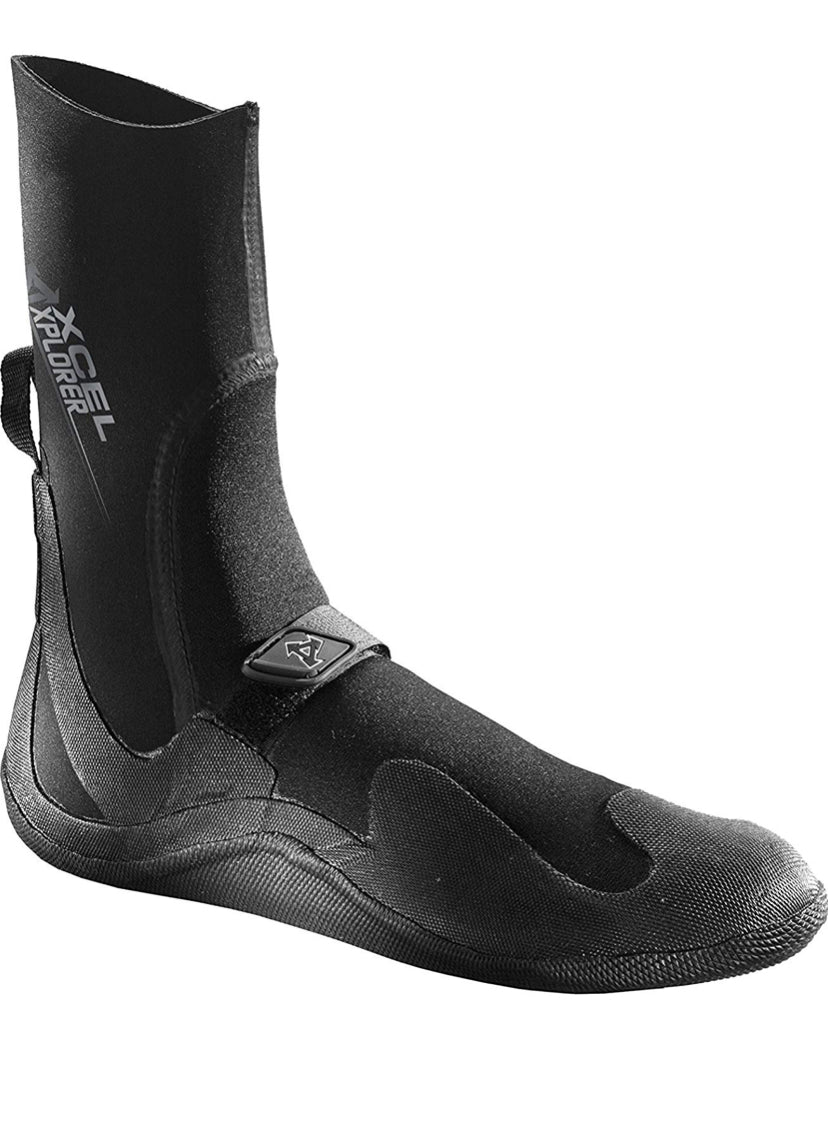 Xcel Xplorer 5mm round toe wetsuit boots - The SUP Store