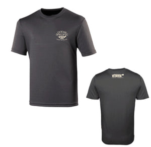 KAHA SUP Quick Dry T Shirt - Charcoal Grey