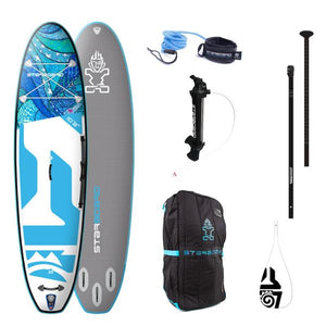 "Starboard TIKHINE WAVE 11'2 x 32"" Inflatable package - 2020 - The SUP Store"