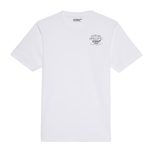 Ocean specific quick dry T-shirt white