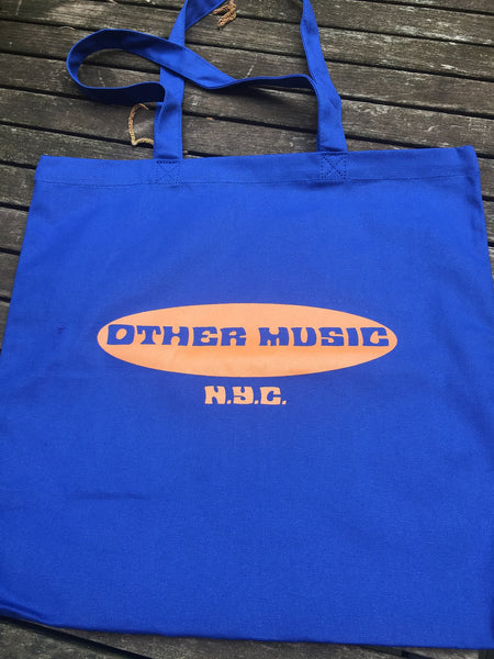 OM Classic Logo Tote - Royal Blue and Orange