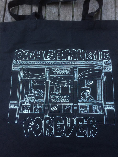 Other Music Forever Black Tote Bag