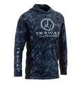 Treway Blue Grey Cell-Tek Performance Hooded Long Sleeve