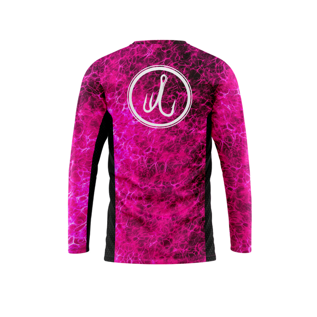 Treway Pink Mahi Cell-Tek Performance Long Sleeve