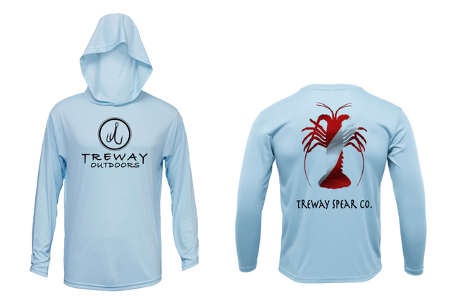 Treway Outdoors Diving Series Lobster Hooded Long Sleeve