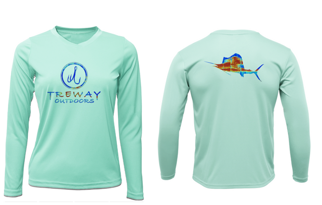 Treway Outdoors Women's Sonar Series Sailfish