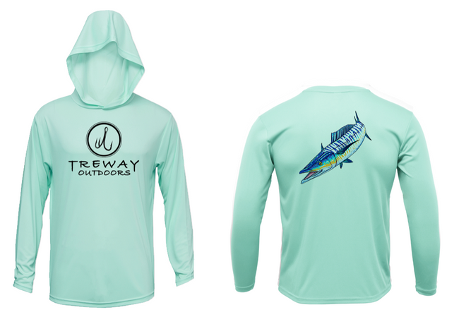 Treway Outdoors Wahoo Performance Hooded Long Sleeve