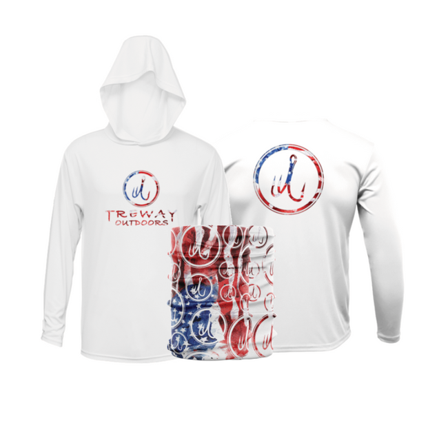 America Series Hooded Long Sleeve Bundle