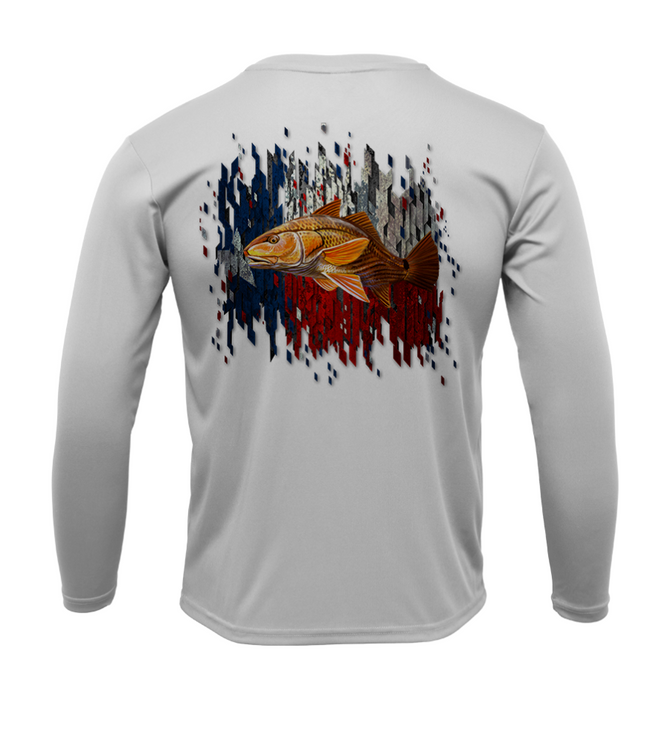 Treway Outdoors Texas Redfish Long Sleeve