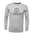 Treway Outdoors Conch Bahamas Flag Performance Long Sleeve